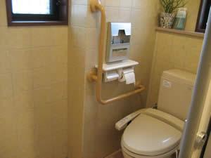 ポムドテールのトイレ