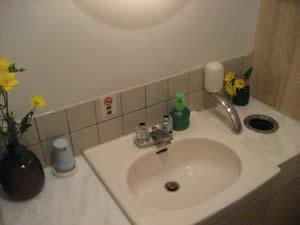 さん竹のトイレ