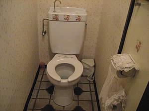 欧州屋のトイレ