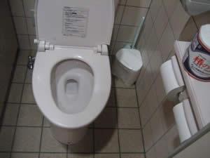 新玉亭のトイレ