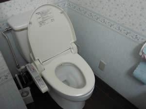 シエナの丘のトイレ