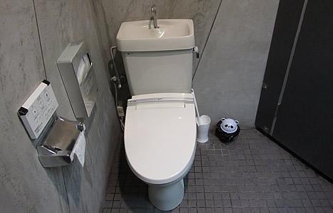 鞍馬サンドのトイレ