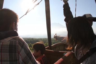 バルーンからの風景