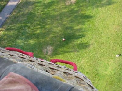 熱気球の高さ