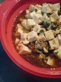 麻婆豆腐です♪
