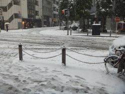 大雪注意報