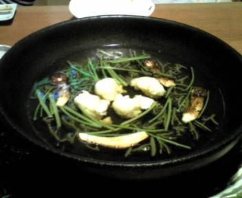 魚(伊勢えびと松茸)