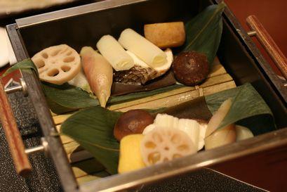 鯛と野菜の蒸し物