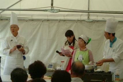 為後先生の料理教室