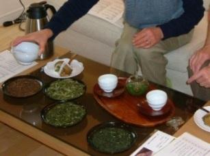 お茶の入れ方体験