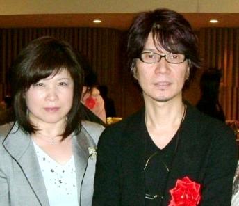 作曲家吉俣さんとの記念写真