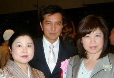 榎木孝明さんと記念写真