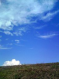夏雲と秋雲