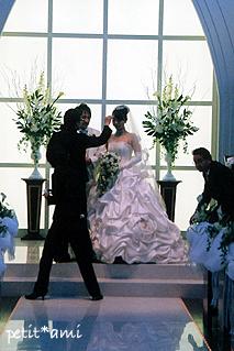 すっかり花嫁&花婿