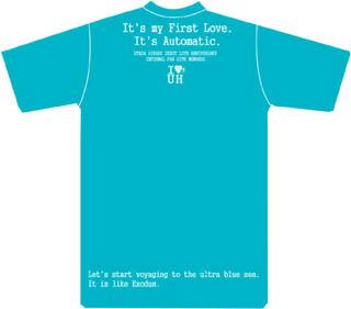 Hikkiデビュー10周年Tシャツ青・後