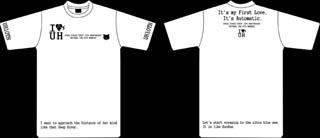 Hikkiデビュー10周年Tシャツ白