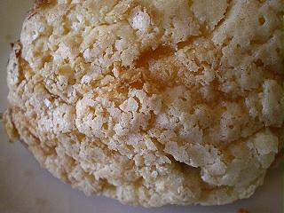 メープルシロップメロンパン
