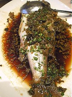 桂魚のアクアパッツァ