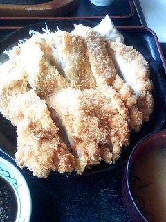 ビッグチキンカツ定食 ¥900