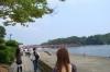 歩いて福浦橋へ