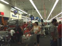 アメリカの郊外型スーパー