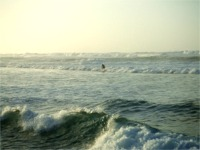 大波のラニアケアビーチ