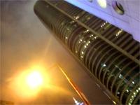 香港島にそびえ建つビル