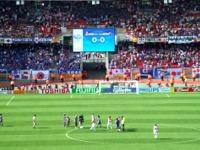 日本−クロアチア戦 試合終了時(フランケンスタジアムにて)