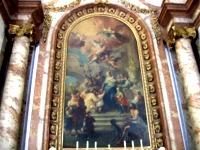 カールス教会 壁画