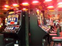 プラハ駅構内のカジノ