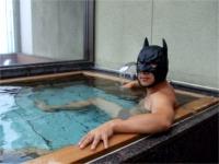 なぜか貸しきり露天風呂に先客が
