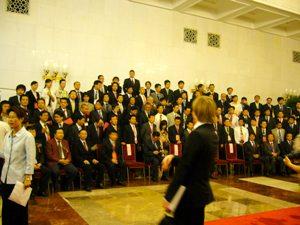日中韓若手経済人フォーラム参加者で記念撮影