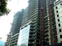 建築ラッシュが続く北京市街