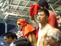 熱狂的なベトナム人サポーター