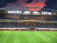 スタジアムから眺めた日本V.S.ベトナム
