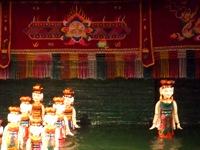 タンロン水上人形シアターの水上人形劇