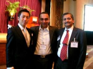 アジアの起業家たちと