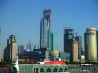 完成が近づいてきた上海環球金融中心(Shanghai World Financial Center)