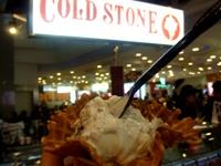 Cold Stone Creameryのアイスクリーム