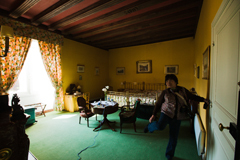 シャトー・ド・ラ・ヴェルリー 160ユーロのツインルーム