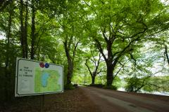 シャトー・ド・ラ・ヴェルリーの公園入口