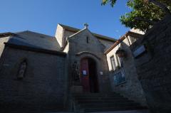 モンサンミッシェルの下の町の教会