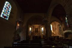 モンサンミッシェルの下の町の教会内部