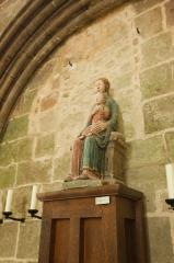 モンサンミッシェルの聖母子像(マリアとキリスト)