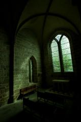 モンサンミッシェルの小さなお祈り部屋