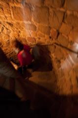 モンサンミッシェルの塔内の階段