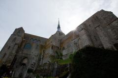 モンサンミッシェルの修道院出口