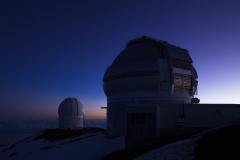 ハワイ島、マウナケア山、天文台、威風堂々