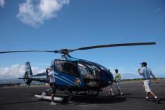 ハワイ島空撮、ヘリコプターツアー