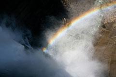 PLフィルターの使い方、虹